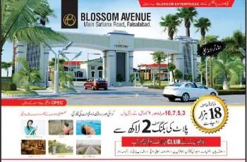 Faisalabad Blossom avenue