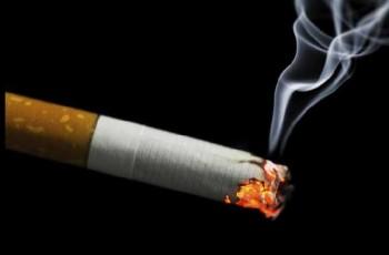smoke of sigarette