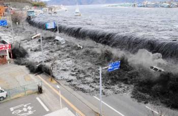 massive tsunami