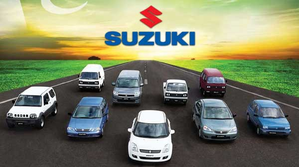 Suzuki vehicles