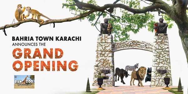 Danzoo bahria town opens international standard zoo in karachi an international standard zoo in karachi on 15th may 2018 the grand opening inauguration ceremony is open only for those with invitation card stopboris Gallery