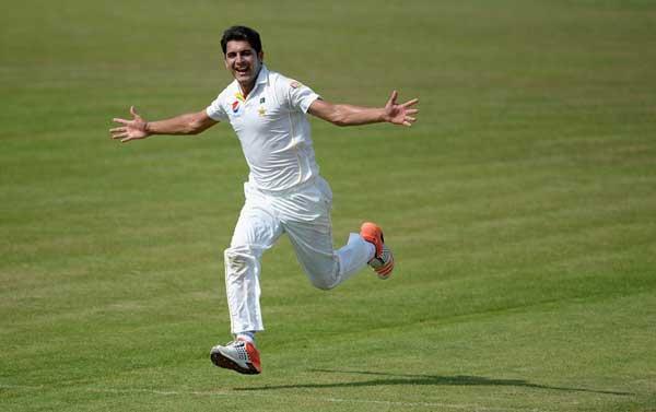 Pakistani bowler mir hamza