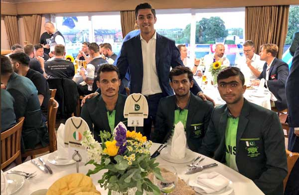 Ali Tareen with LMS players