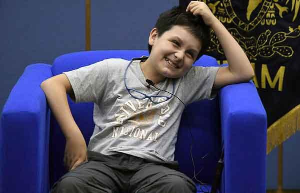 young Carlos Santamaria
