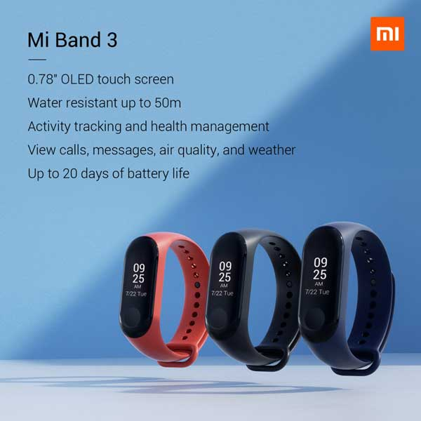 smart bands of MI