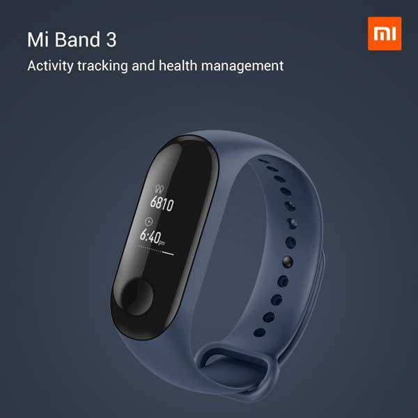 smartband of MI