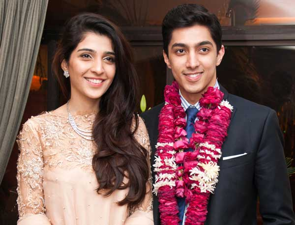 Ali tareen with fiancee