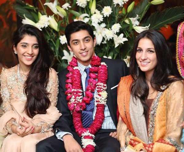 bisma ahmad with ali khan tareen