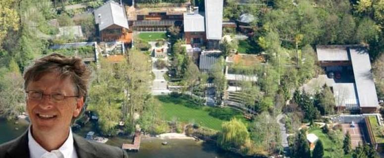 Bill gates mansion
