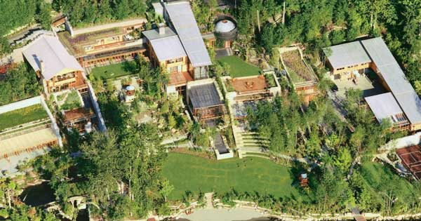bill gates complete house