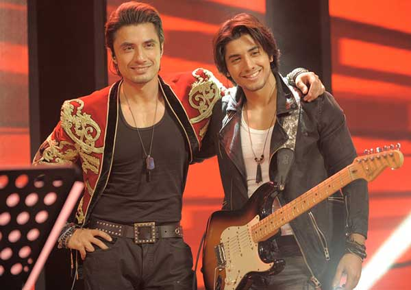ali zafar with his brother