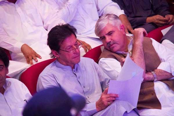 KPK CM & PM of Pakistan