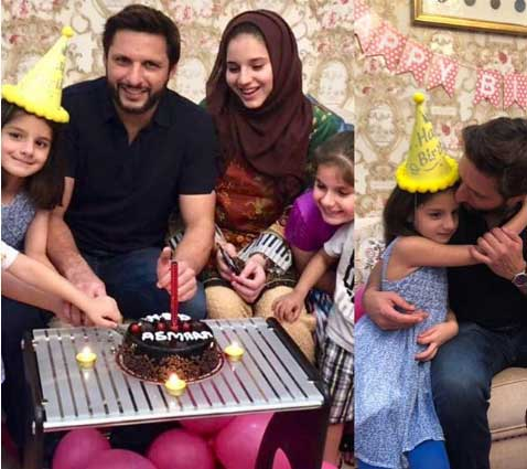 birthday of asmara afridi