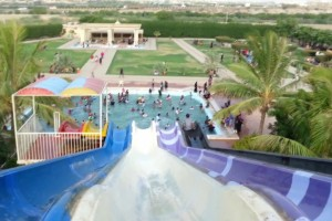 Slides in Al-Mehran Water Park