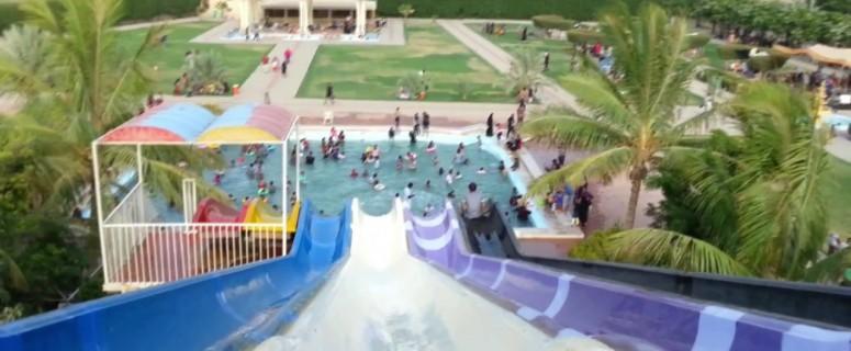 Slides in Al-Mehran Water Park