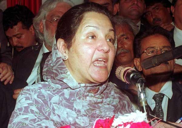 wife of nawaz sharif