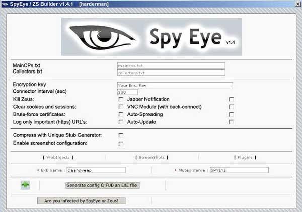 spyeye virus
