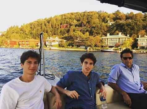 Sulaiman & Qasim Khan with father