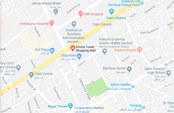 Amma Tower Saddar Karachi - Location & Map Details of Mobile
