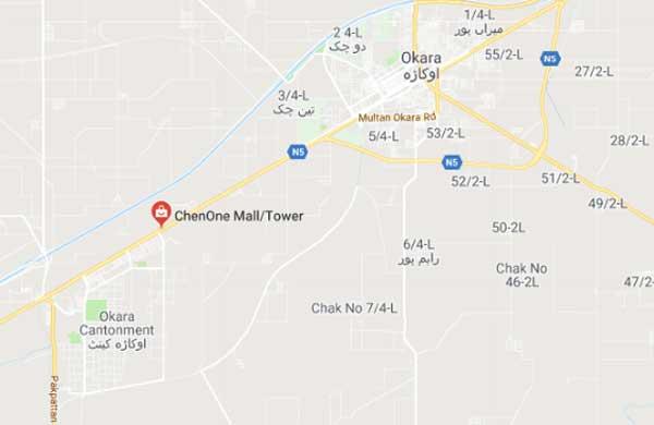ChenOne Okara Map