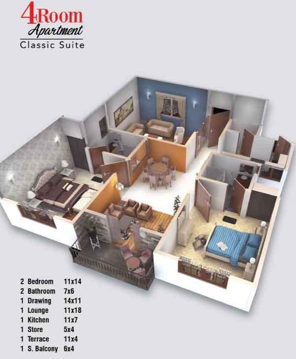 Gohar Towers Karachi Apartment Price, Payment Schedule