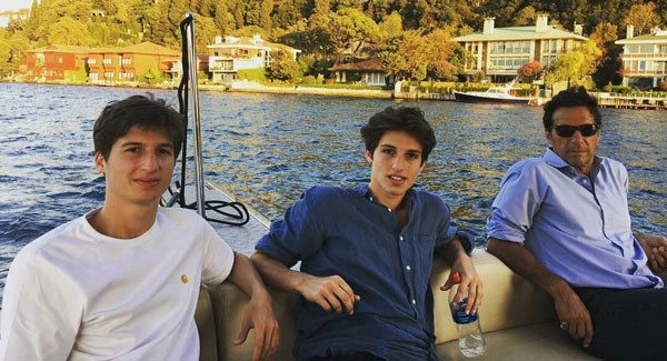 imran khan with his sons