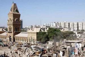 karachi anti-encroachment