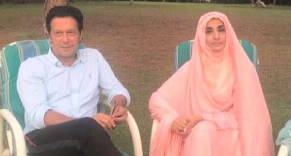 bushra bibi with imran khan