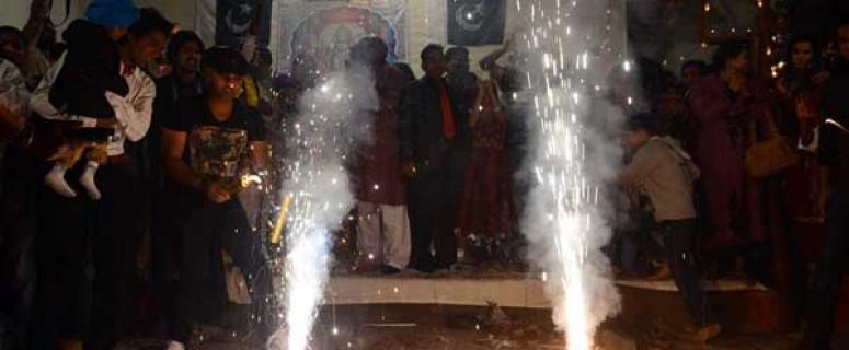 Diwali celebrations