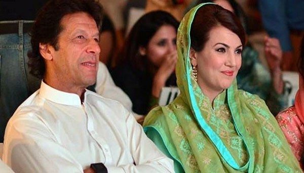 imran khan with his 2nd wife reham khan