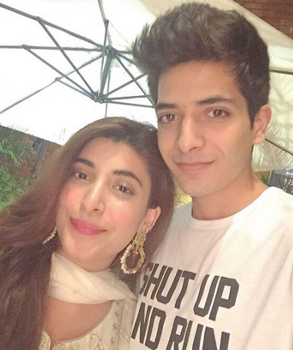 urwa with her brother