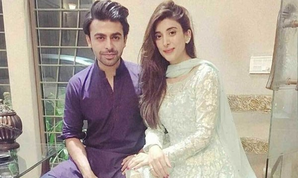 urwa hocane and farhan saeed smiling