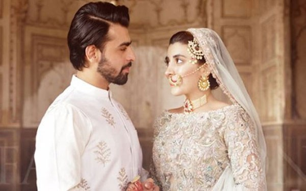 urwa and farhan looking at each other
