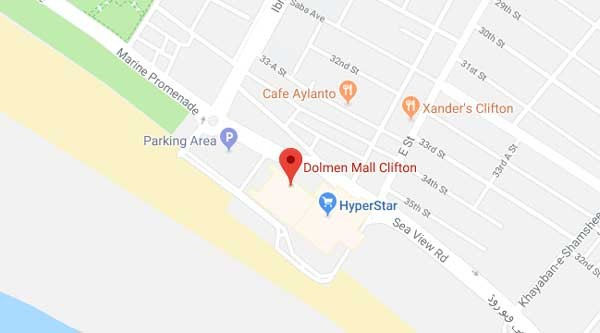 dolmen mall clifton map
