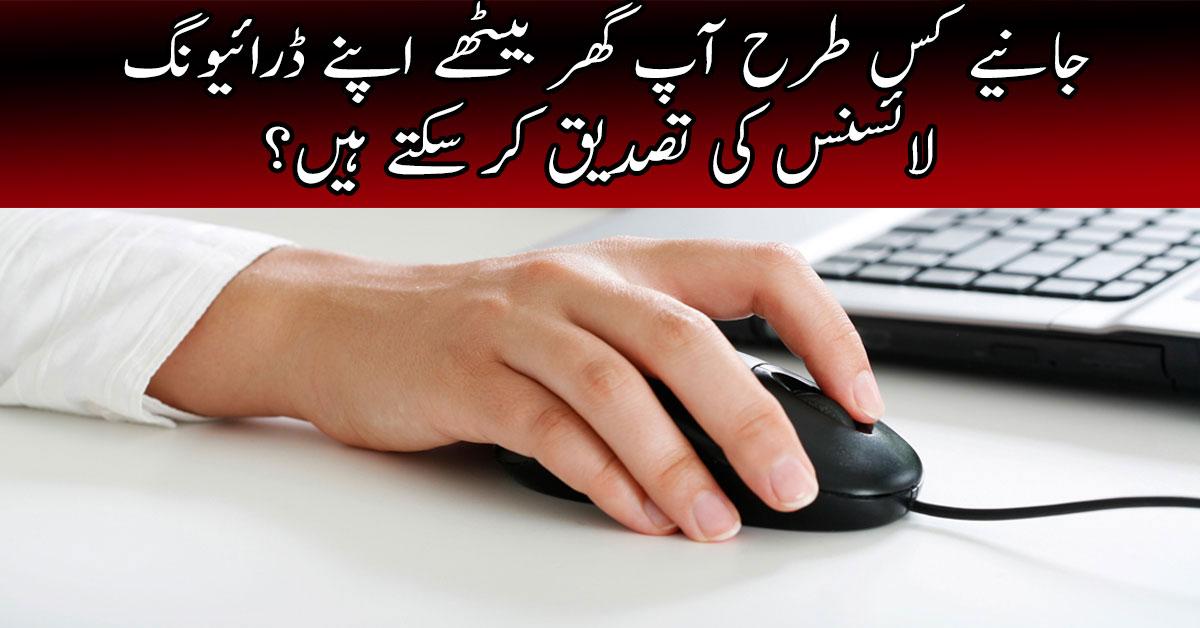 kpk driving licence online checking