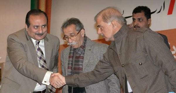 rana iqbal and shahbaz sharif