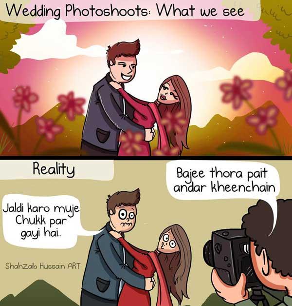 marriage photo shoot meme