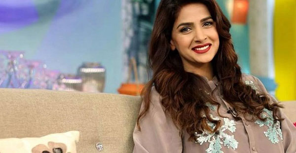 Pakistani Actress Saba Qamar