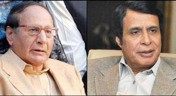pervaiz elahi & chaudhry shujahat