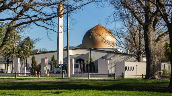 new zealad mosque