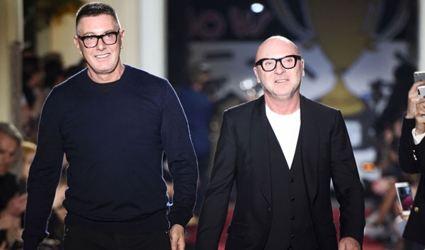 Dolce & Gabbana designers