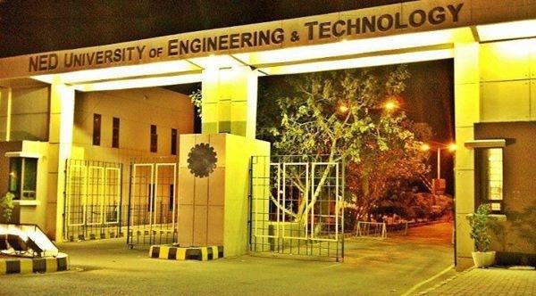 NED Engineering university entrance