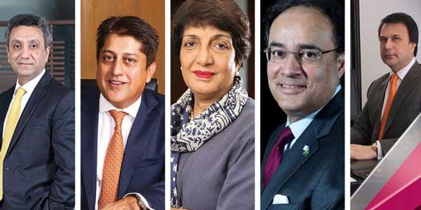 Pakistani bankers