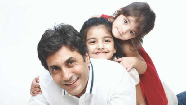 Adnan siddiqui son & daughter