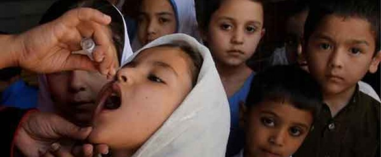 children polio vaccine
