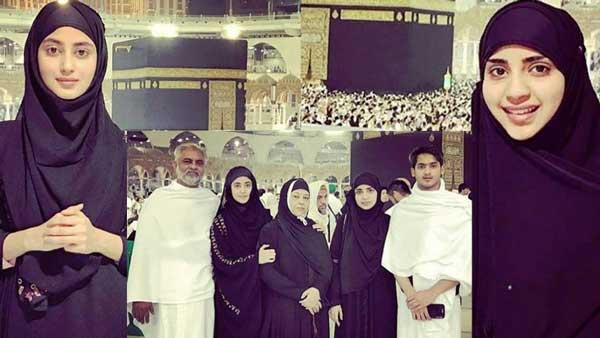 actress saboor ali, sajal aly family