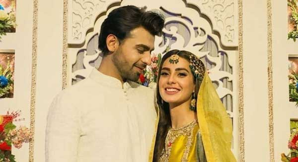 Farhan Saeed and Iqra Aziz