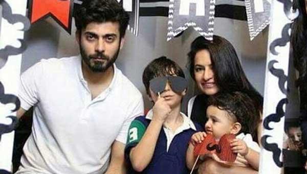 fawad-khan-wife-children