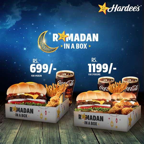 hardee's ramadan deals