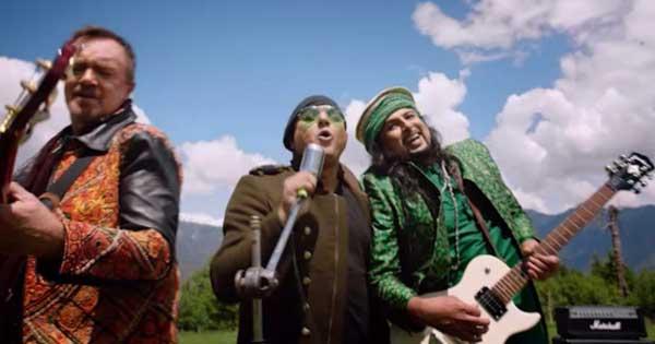Salman Ahmed, Ali Azmat and Brian